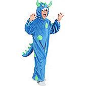 Child Blue Monster Costume