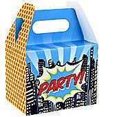 Pop Art Superhero Party Boxes