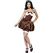 Fever Ladies Saucy Pud Costume Large