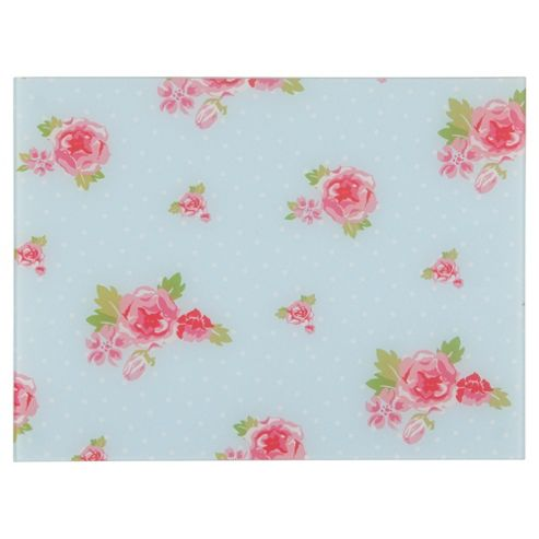 Tesco English Rose Work Surface Protector