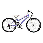 "2015 Coyote Skyline 18 Speed 24"" Wheel Girls Mountain Bike"