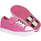 Heelys Snazzy Pink Heely Shoe - 12