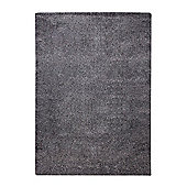 Esprit Spacedyed Anthracite Tufted Rug - 140 cm x 200 cm (4 ft 7 in x 6 ft 7 in)