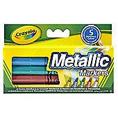 Crayola Metallic Markers - 5 Pieces