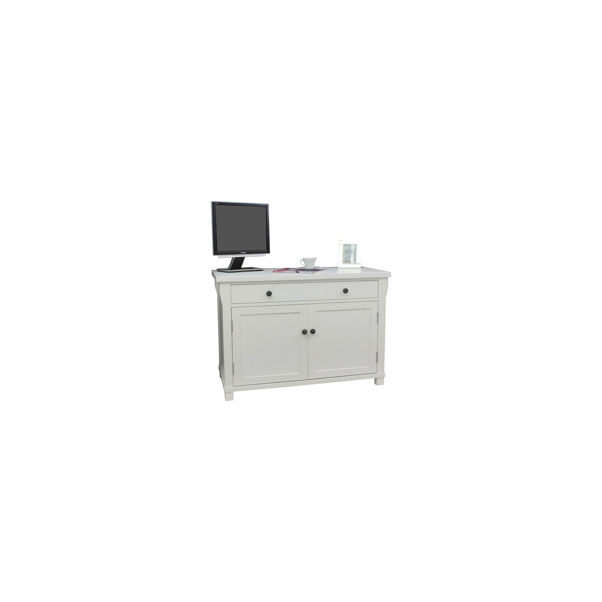 Baumhaus Hampton Hidden Home Office Computer Desk at Tesco Direct