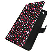 Tesco hudl 2 Folio Tablet Case - Hearts