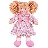 Bigjigs Toys 28cm Doll BJD012 Sophie