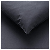 Tesco Fitted Sheet Kingsize Black