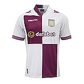 2013-14 Aston Villa Away Football Shirt - White