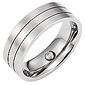 Brand New Mens 8mm Magnetic Titanium Band Ring