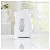 Tesco Plastic Jug Kettle, 1.7L - White