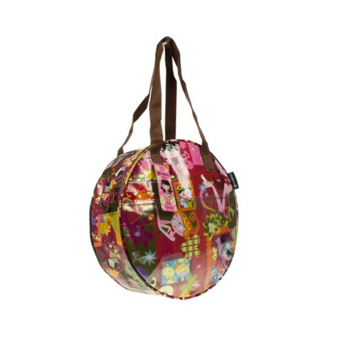 Decodelire Decodelire Patterned Round Handbag