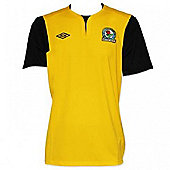 2011-12 Blackburn Umbro Away Football Shirt (Kids) - Yellow