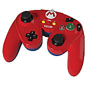 Super Smash Bros Wired Fight Pad Mario - NintendoWiiU