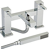 Series L Bath Shower Mixer with Shower Kit & Wall Bracket