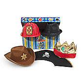 Melissa and Doug Roleplay Hats Collection