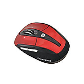 Gear Head MPT3100 2.4GHz Wireless Tilt-Wheel Optical Mouse (Red)