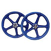 """Skyway Tuff II Blue 20"""" BMX Wheelset"""