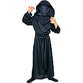 Child Hidden Face Ghoul Robe Large