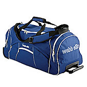 Webb Ellis Explorer Pro 2-Wheel Holdall, Blue