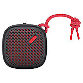 NudeAudio Portable Speaker Black/Red