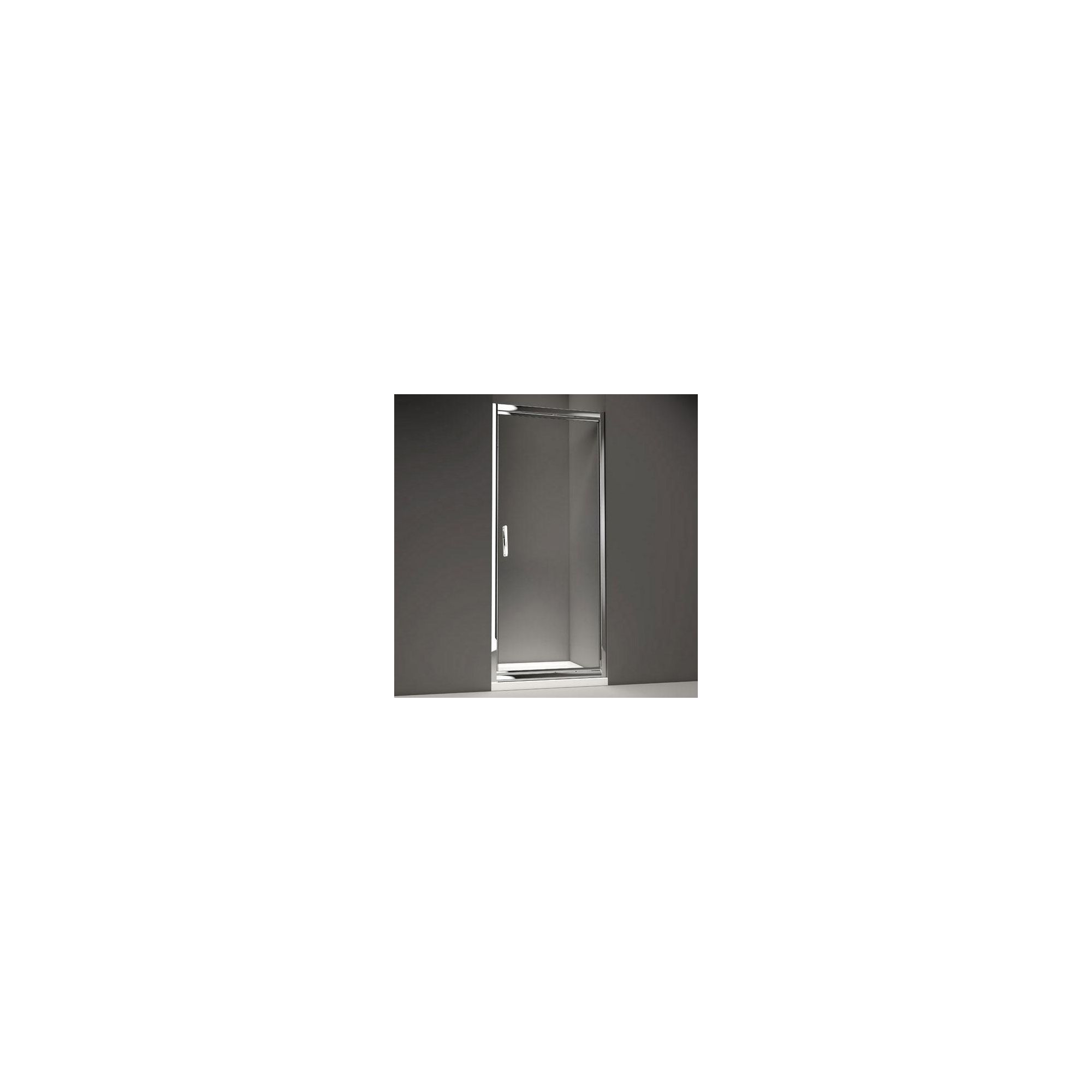 Merlyn Series 8 Infold Shower Door, 800mm Wide, Chrome Frame, 8mm Glass at Tescos Direct