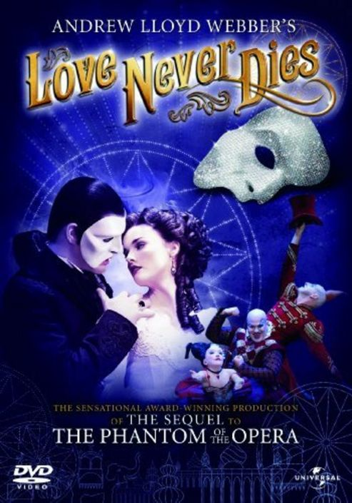Love Never Dies (DVD)