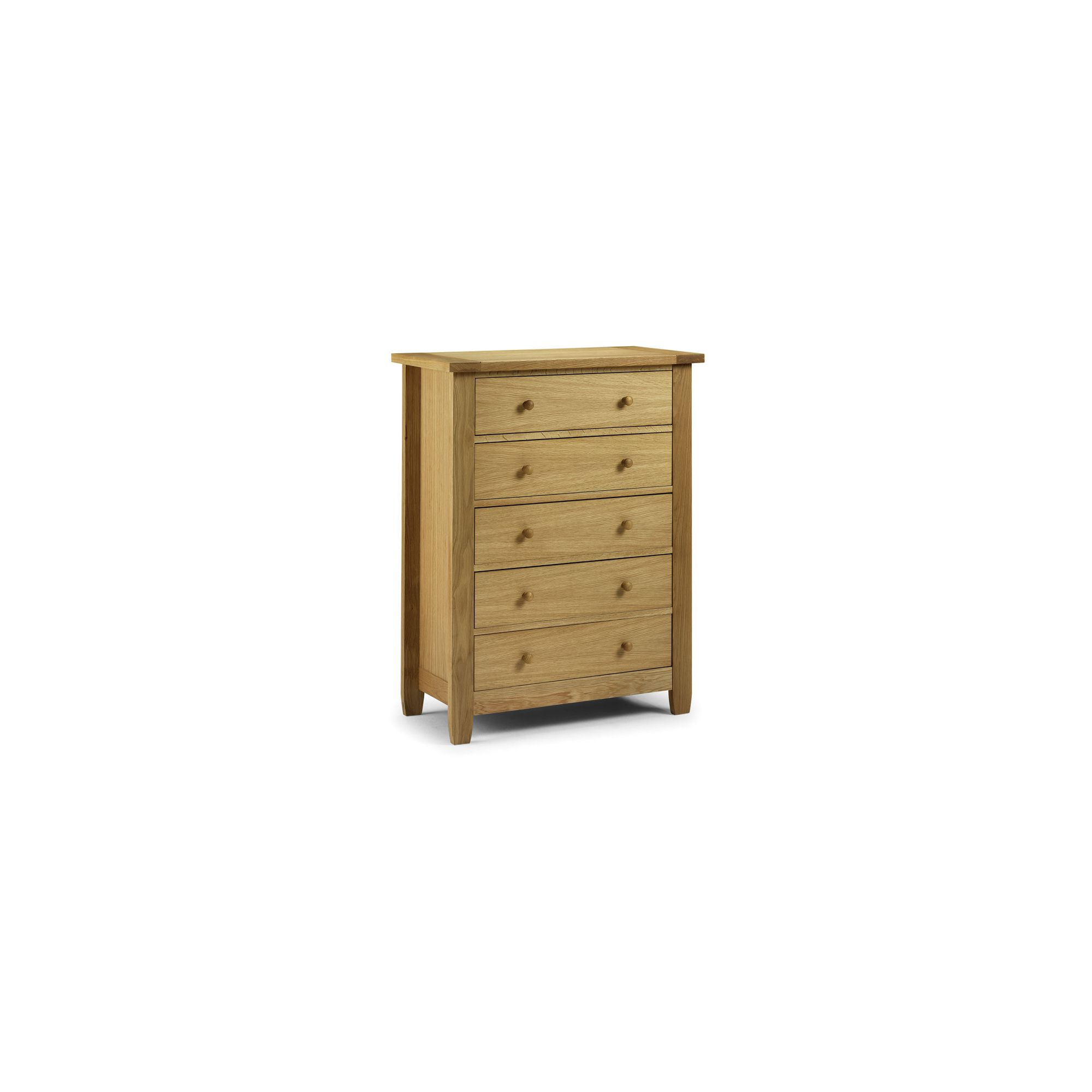 Julian Bowen Lyndhurst 5 Drawer Chest at Tescos Direct
