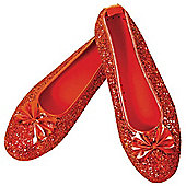 Rubies - Dorothy Deluxe Shoes - Adult UK Size 3