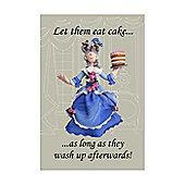 Holy Mackerel Tea Towel- Marie Antoinette