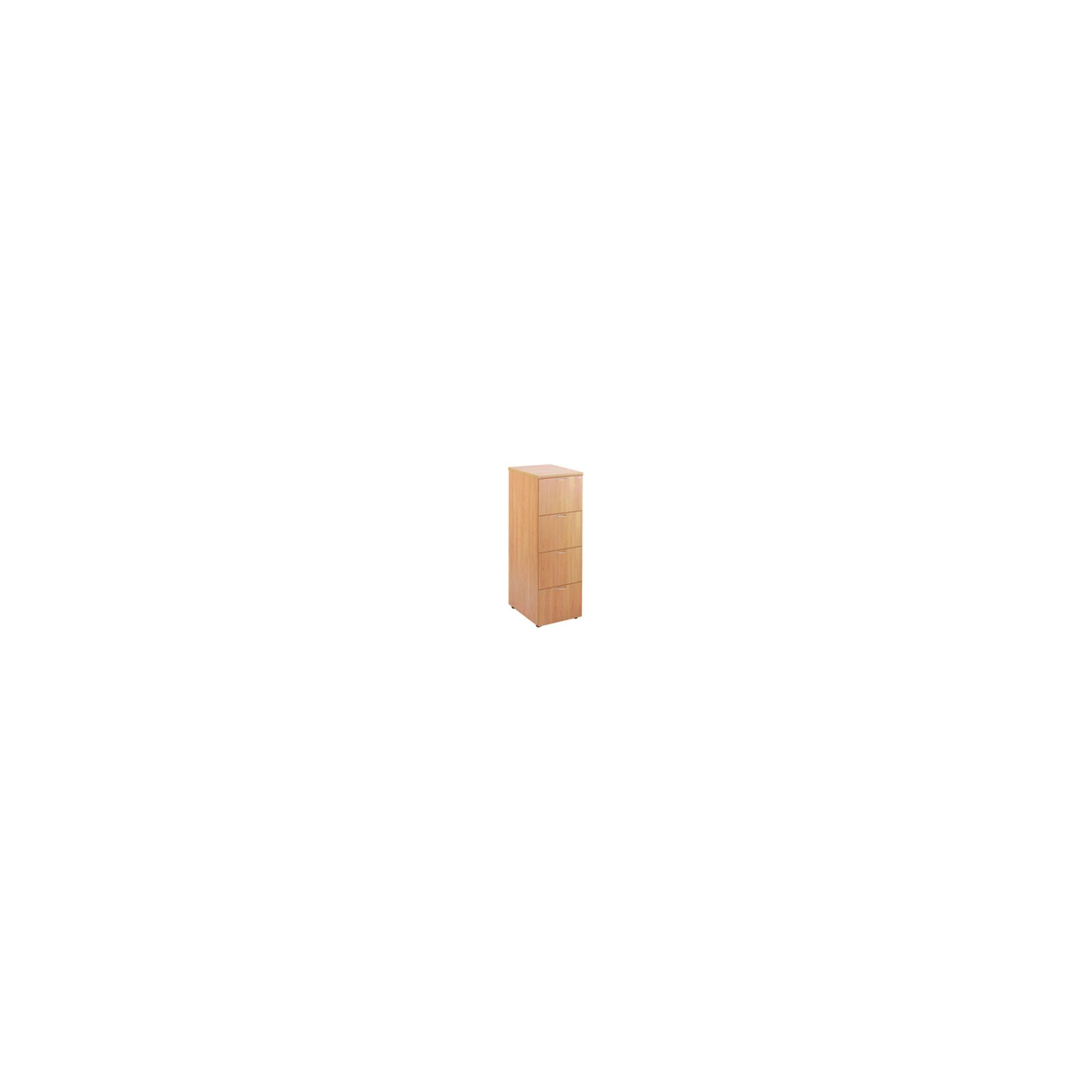 Jemini 4-Drawer Filing Cabinet Beech KF71958