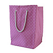 Wicker Valley Square Soft Storage in Pink Star