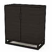 Gillmore Space Cordoba Low Sideboard/Entertainment Unit in Wenge