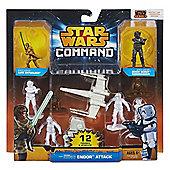 Star Wars Command Endor Attack Set Action Figure