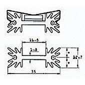 Universal Heat Sink 25.4mm