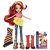 My Little Pony Equestria Girls Rainbow Rocks - Sunset Shimmer Doll With Fashions