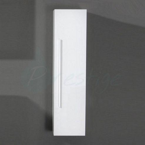 prestige paris bathroom tallboy side cabinet 1400mm high x 350mm wide