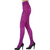 Leopard Print Tights PINK