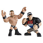 WWE Rumblers Figures Double Pack