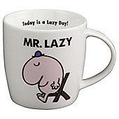 Mr Lazy Porcelain Mug