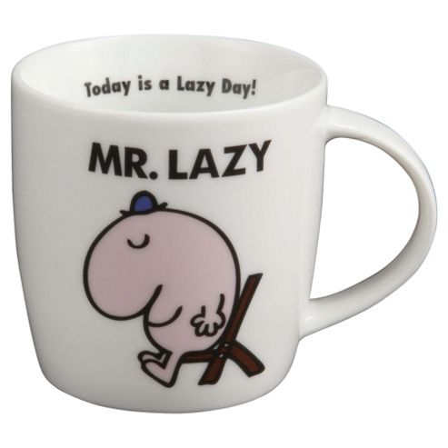 Mr Lazy Porcelain Mug