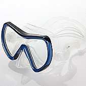 Divetech PRO Coral Silicone Adult Swimming Snorkling Diving Mask Blue / Black