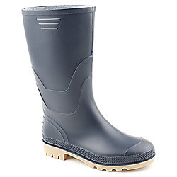 Brantano Ladies Bliss 3 Blue Wellington Boot