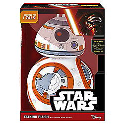 """Star Wars: Premium Deluxe Character BB-8: - Talking Soft Toy 15"""""""