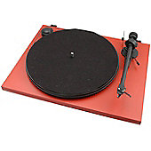 PROJECT ESSENTIAL II TURNTABLE (RED)