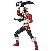Power Rangers Super Megaforce 16cm Battle Morphin Figure - Red Ranger