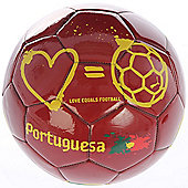 Puma Ltd Edition Love Equals Football Portugal Portuguesa Size 5