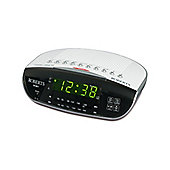 CR-9971 Dual Alarm Clock Radio with Instant Time Set