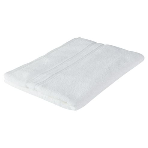 Tesco 100% Combed Cotton Bath Sheet White