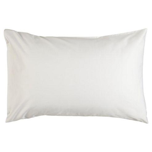 Finest Pima Cotton Oxford Pillowcase White